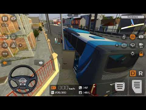 lái xe Bus Simulator Indonesia