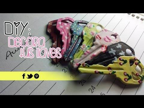 DIY: Decora tus llaves | Akari Beauty