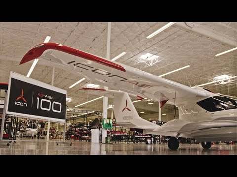 ICON Celebrates its 100th A5 Aircraft | ASN-100