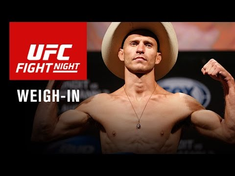 Fight Night Pittsburgh: Official Weigh-in