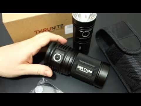 *NEW!* Thrunite TN4A Review: 4xAA 1150 lumen Compact Th ...