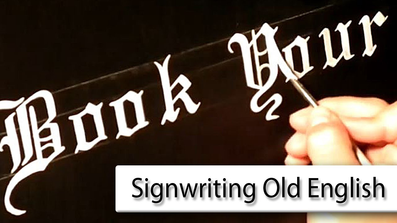 sign writing asl in english