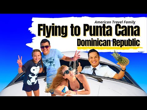 OUR FLIGHT TO PUNTA CANA in 2020 | Travel Family Vlog