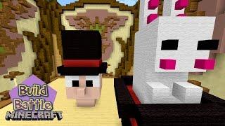 Minecraft Build Battle - TEMA DE CHAPÉU E BOLO