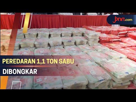 Peredaran 1,1 Ton Sabu Dikendalikan Napi dari Cilegon Banten