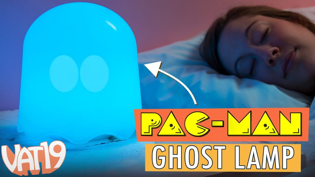 The PAC MAN Ghost Lamp [Officially Licensed]   YouTube