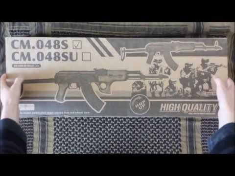 CYMA CM048s AKMS Review [Airsoft]