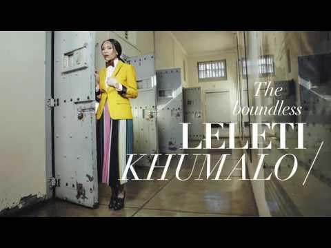 BTS June cover shoot with Leleti Khumalo