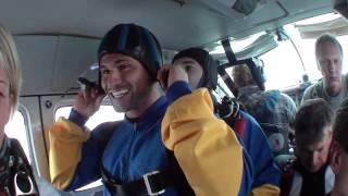 Tandemsprung von Onur bei skydive nuggets in Leutkirch