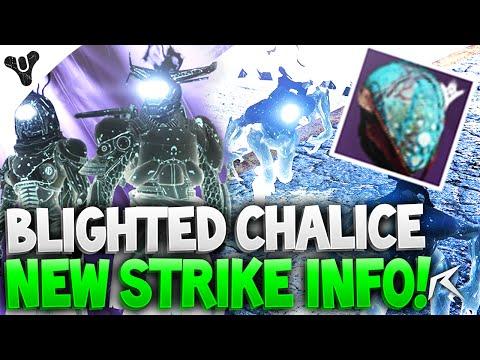 Destiny - Blighted Chalice Strike Info! Strike Specific Loot, Malok Boss | NEW HELLMOUTH STRIKE!