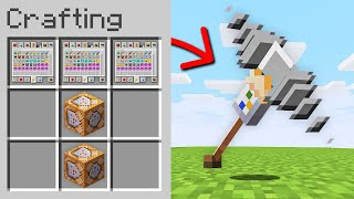 Minecraft, But You Can Craft Creative Mode Items...