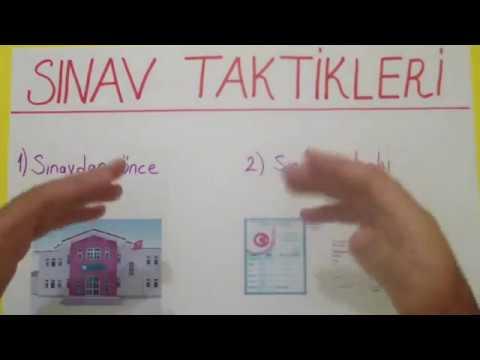 Sınav Taktikleri Şenol Hoca Matematik