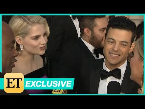 Oscars 2019: Rami Malek Gushes Over Working With 'Talented, Powerful' Girlfriend (Exclusive)