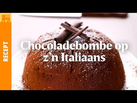 Chocoladebombe op z'n Italiaans