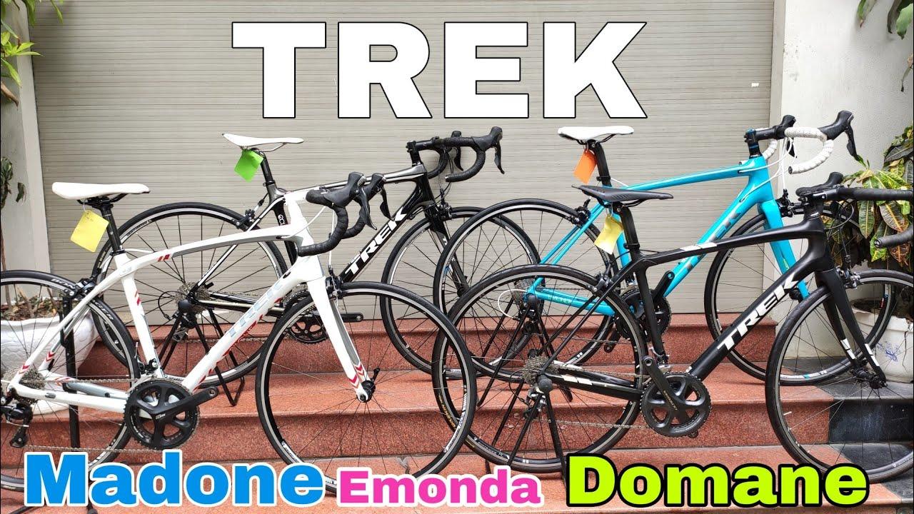 Xe đua MỸ đẹp – chất    TREK Madone – Domane – Silque – Emoda   Zalo 0366 786 830