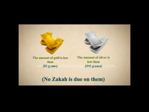 Paying Zakat On Gold  And Silver Jewelry