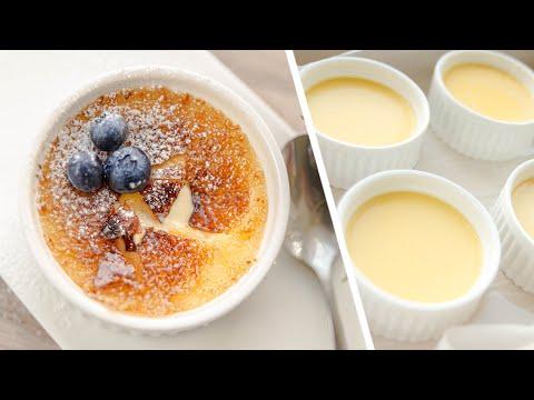 КРЕМ-БРЮЛЕ самый вкусный французcкий десерт |  его легко приготовить дома | Creme Brulee  рецепт