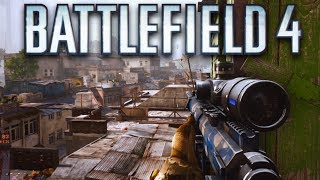 Battlefield 4 Multiplayer Gameplay - Sniping on Xbox One (Battlefield 4 Gameplay)