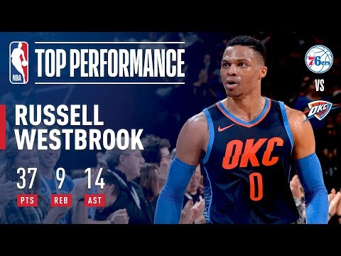 Russell Westbrook Ignites the Thunder With 37/9/14 | January 28, 2018