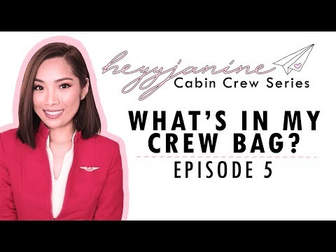 Cabin Crew Series Ep 5: What's in my bag?