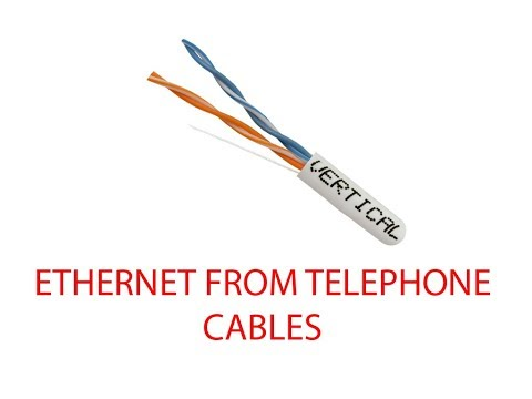 converting home telephone wiring to ethernet  youtube