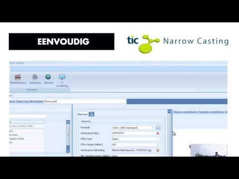 TIC Narrowcasting by Verfaillie-Bauwens
