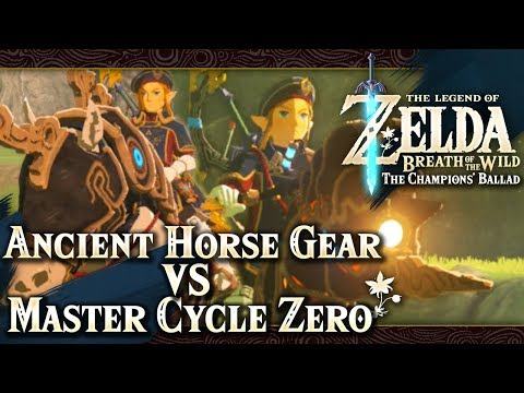 The Legend of Zelda: Breath of the Wild - Ancient Horse Gear VS Master Cycle Zero