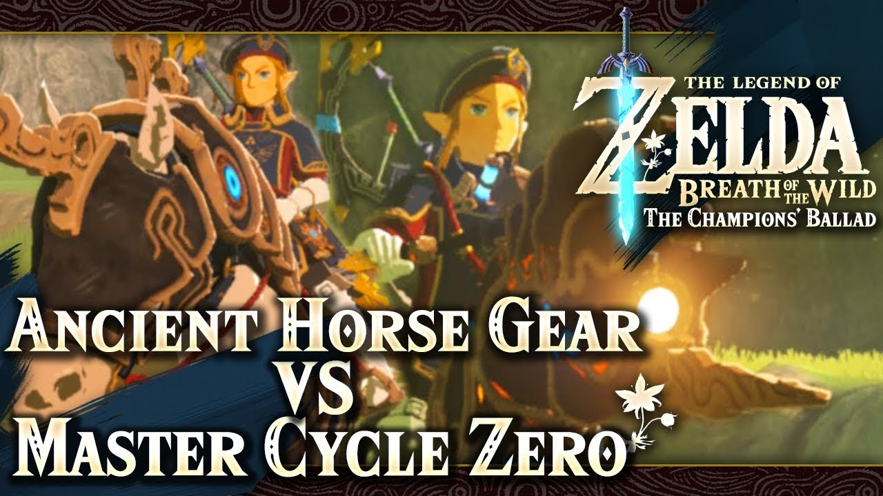 Zelda Breath Of The Wild Master Cycle: The Legend Of Zelda: Breath Of The Wild