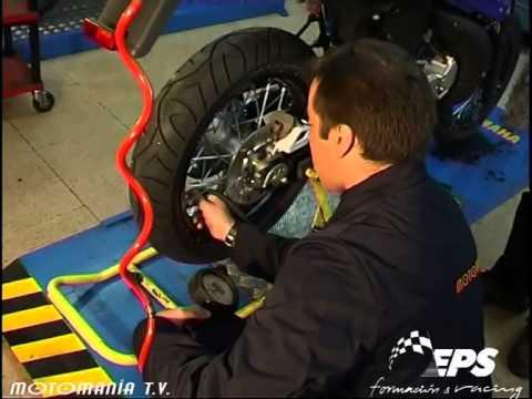 Presión Del Neumático En La Moto.