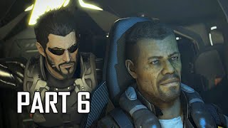 Deus Ex Mankind Divided Walkthrough Part 6 - The Rucker Extraction (PC Ultra Let's Play)