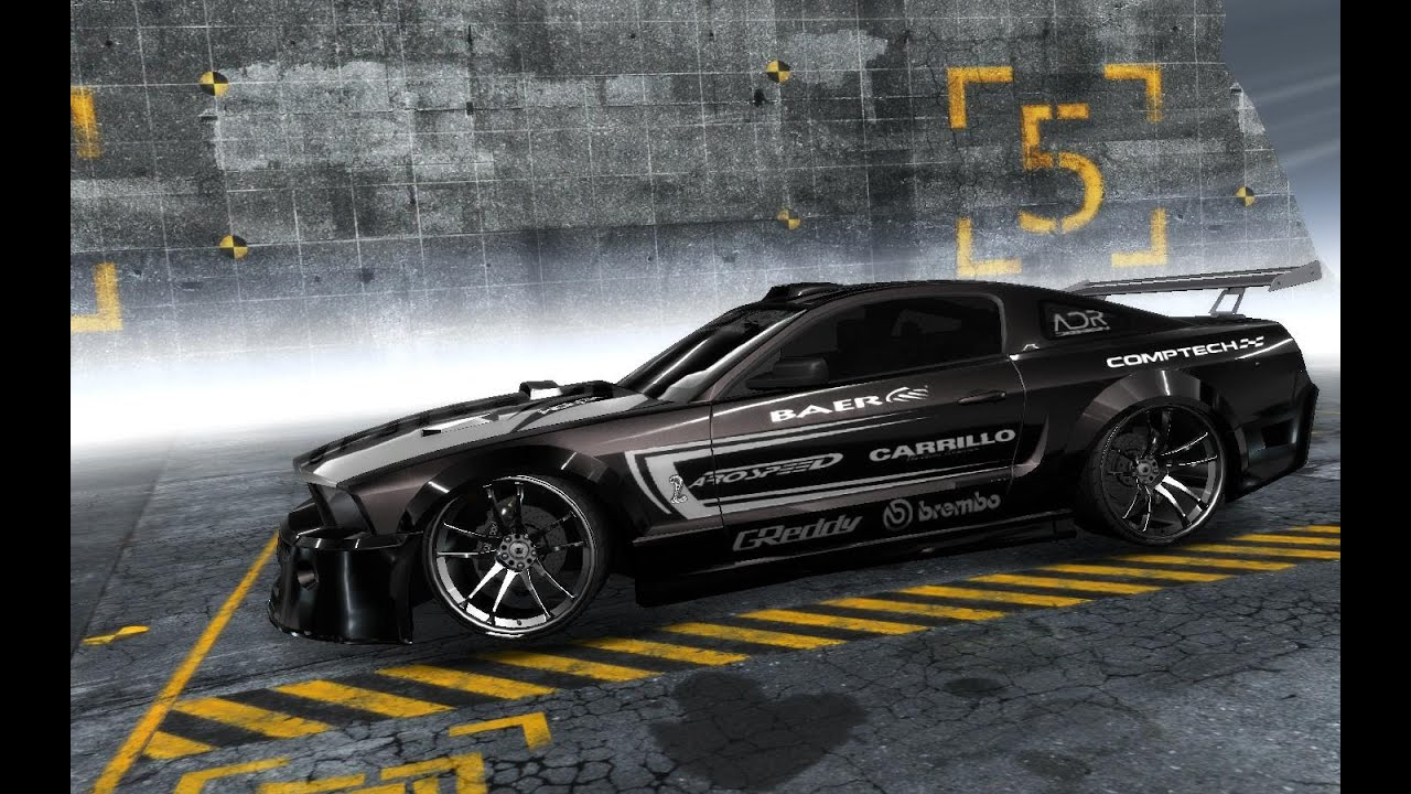 Need For Speed Pro Street Ford Mustang Shelby Gt500