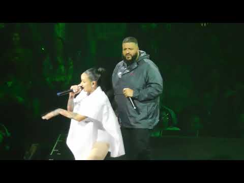 Kehlani and DJ Khaled- CRZY HD Live TMYLM Tour