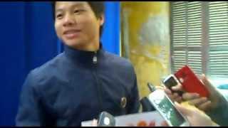 Cảm xúc của Hà Long Khanh khi nhận giải vua phá lưới bóng đá HSSV dưới