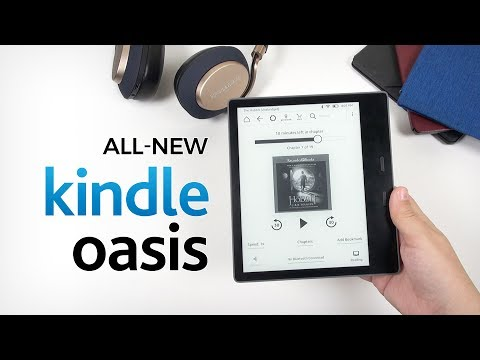 Kindle Oasis 2 (2017): In-Depth Review || Bowers & Wilkins PX Headphone Giveaway
