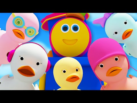 Bob The Train | Five Little Ducks | Children's Song | Nursery Rhyme Compilation | Kids TV