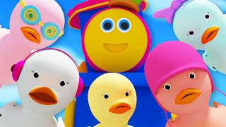Bob The Train  Five Little Ducks  Children's Song  Nursery Rhyme Compilation  Kids Tv