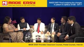 ESE(IES) 2017 : New Scheme & Pattern of UPSC ESE(IES) by MADE EASY experts.