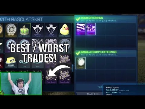 BEST AND WORST TRADES IN ROCKET LEAGUE #2