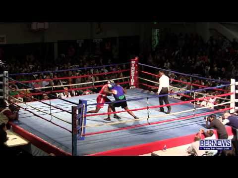 Shannon Ford vs Stefan Dill At Fight Night 15, Feb 2 2013