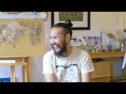 The Mongolian Painter Enkhbat Batzorig | Raiyu Cinema |