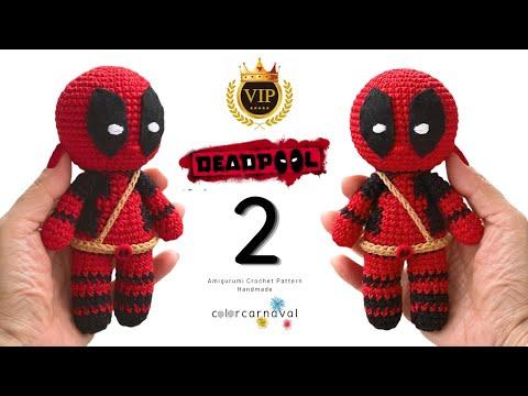 Deadpool Amigurumi | Patrones amigurumi, Muñecos de ganchillo ... | 360x480