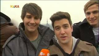 Big Time Rush Interview bei Logo! [Kika - 04/02/12]