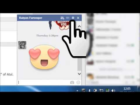 How To Delete Facebook Chat History 2014