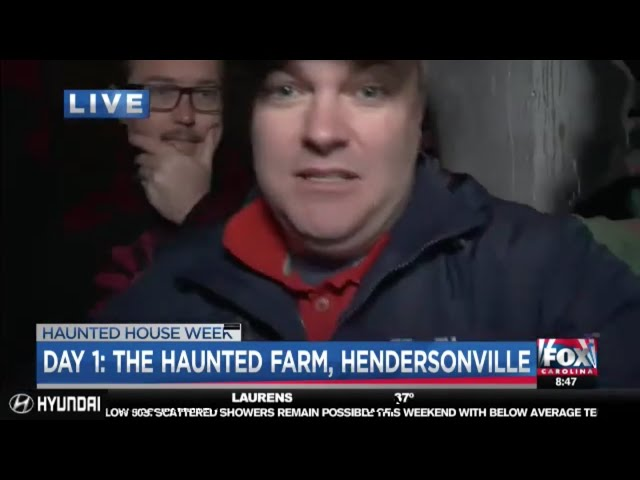 The Haunted Farm 2018 | Dr Phil Payne meets Joe Gagnon on Fox Carolina News LIVE