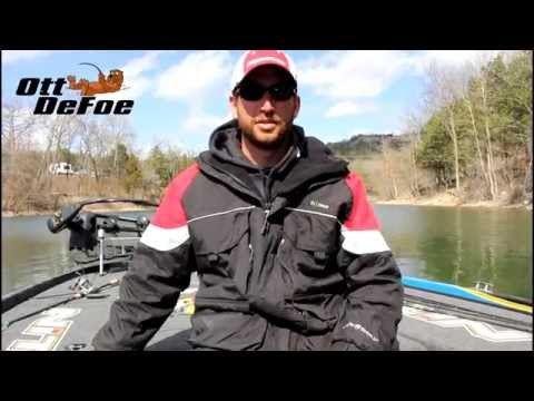 Ott DeFoe and His ArcticShield Fishing Apparel