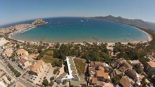 Les Castors Camping Calvi Corse aérien