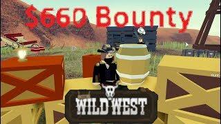 Le Wild West Roblox ( Obtenir des TONNES DE BOUNTY