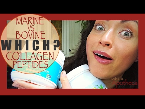 🐠Marine vs Bovine 🐮💫 hydrolyzed💫💦collagen?✨💖✨Comparison