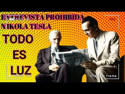 Entrevista de Nikola Tesla, Prohibida durante 116 años,.