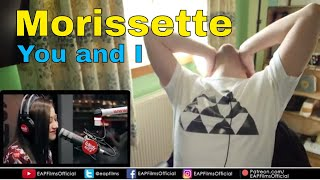 Morissette performs You And I LIVE on Wish 107.5 | REACTION
